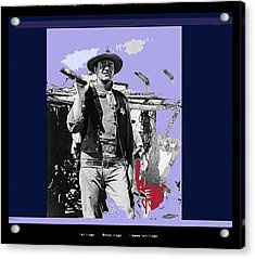 John Wayne Rio Bravo Publicity Photo 1959 Old Tucson Arizona Acrylic Print