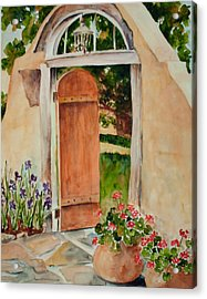Josephina's Gate Acrylic Print