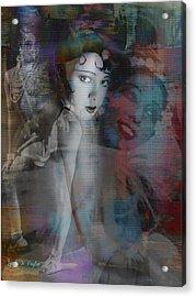 Josephine Baker  Acrylic Print by Lynda Payton