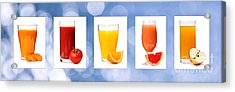 Juices Acrylic Print by Elena Elisseeva