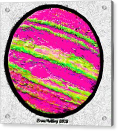 Jupiter In Many Colors Acrylic Print by Bruce Nutting