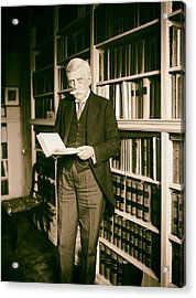 Justice Oliver Wendell Holmes 1924 Acrylic Print