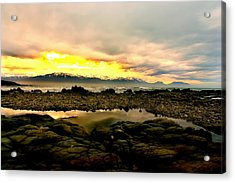 Acrylic Print featuring the photograph Kaikoura Coast New Zealand by Amanda Stadther
