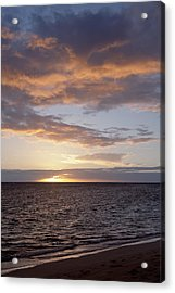 Kailua Sunset Acrylic Print by Brandon Tabiolo
