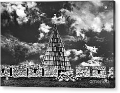 Kalemegdan Fortress Church Acrylic Print by Milan Karadzic