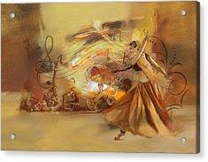 Kathak Dancer 4 Acrylic Print