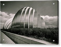 Kauffman Performing Arts Center Acrylic Print by Lisa Plymell
