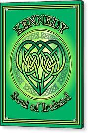 Kennedy Soul Of Ireland Acrylic Print