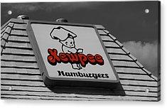 Kewpee Restaurant Acrylic Print