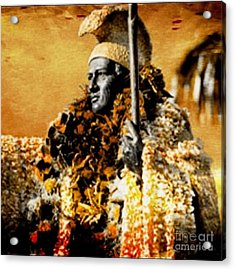 King Kamehameha I Acrylic Print by Laura  Gundy