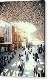 Kings Cross Station London Acrylic Print