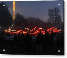 Kings Dominion - 12122 Acrylic Print by DC Photographer