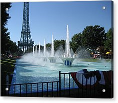 Kings Island - 12125 Acrylic Print by DC Photographer