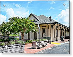 Kingstree Depot Acrylic Print