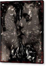 Kiss Acrylic Print by John Waiblinger