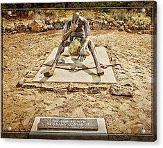 Korean War Monument Acrylic Print