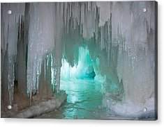 Krypton Kave Acrylic Print by Jill Laudenslager