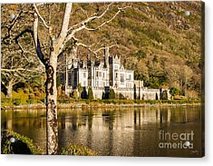 Kylemore Abbey In Winter Acrylic Print