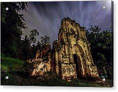 La Ermita Acrylic Print by Christian Santizo
