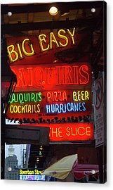 La, New Orleans, French Quarter, Neon Acrylic Print