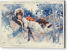 La Vie Parisienne 1920s France Maurice Acrylic Print by The Advertising Archives