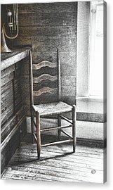Ladderback Acrylic Print by JAMART Photography