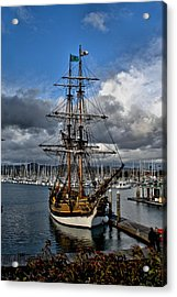 Acrylic Print featuring the photograph Lady Washington by Michael Gordon