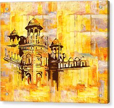Lahore Fort Acrylic Print by Catf