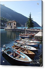 Lake Garda At Torbole Acrylic Print