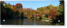 Acrylic Print featuring the photograph Lake In Central Park by Yue Wang