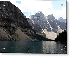 Lake Moraine Acrylic Print by Carolyn Ardolino