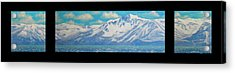 Lake Tahoe After The Storm Triptych Acrylic Print by Frank Wilson