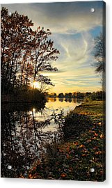Lake Wausau Sunset Acrylic Print