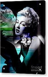 Lana Turner Acrylic Print by Marvin Blaine