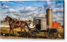 Lancaster Pennsylvania's Best Acrylic Print by Linda Karlin