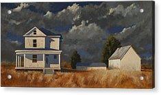 Land Mark Acrylic Print by John Dean