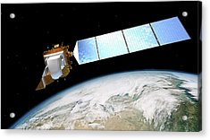 Landsat Data Continuity Mission Acrylic Print by Nasa