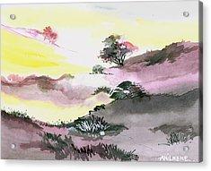 Landscape 1 Acrylic Print by Anil Nene