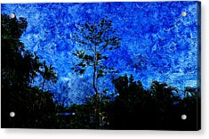 Landscapes In Blue Sky Acrylic Print