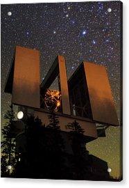 Large Binocular Telescope Acrylic Print by Babak Tafreshi