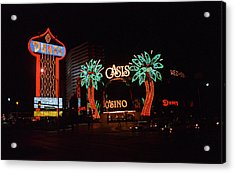 Las Vegas 1983 #2 Acrylic Print