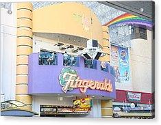Las Vegas - Fremont Street Experience - 12122 Acrylic Print by DC Photographer