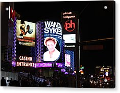 Las Vegas - Planet Hollywood Casino - 12121 Acrylic Print by DC Photographer