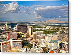 Las Vegas Strip  Acrylic Print by Amanda Miles