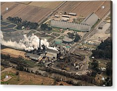 Lasuca Sugar Mill Acrylic Print by Ronald Olivier