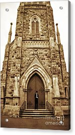 Late For His Own Funeral Acrylic Print