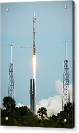 Launch Of Maven Mission To Mars Acrylic Print by Nasa/bill Ingalls