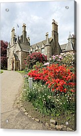 Lauriston Castle Acrylic Print by Grant Glendinning