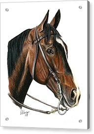 Lava Man Acrylic Print by Pat DeLong