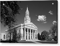 Lawrence University Memorial Chapel Acrylic Print by University Icons